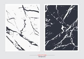 Fundo de cobertura de mármore preto e branco. vetor