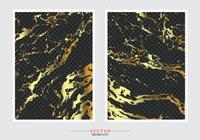 Fundo de cobertura de mármore ouro. vetor