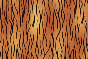 Fundo sem emenda da pele do tigre na arte gráfica de vetor.