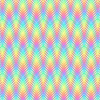 Teste padrão psicadélico da arte do pixel das listras onduladas vetor