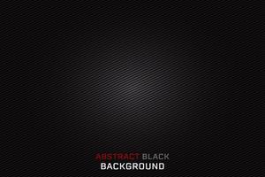 Fundo preto abstrato da textura, projeto do vetor. vetor