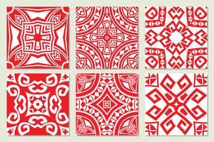 texturas sem costura étnicas geométricas abstratas