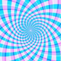 Fundo de vetor de ilusão de ótica holográfica