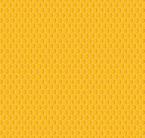 Vetor de favo de mel sem costura de fundo