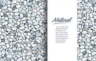 papel de parede cinzento da textura do cascalho e espaço para escrever.