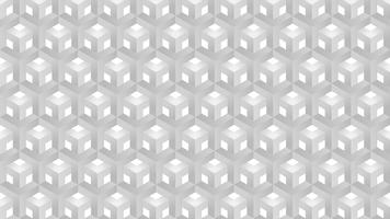 Vetor abstrato geométrico de fundo cinza padrão de hexágonos