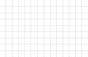papel de grade de linha tracejada com fundo branco vetor