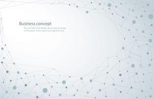 fundo de ciência, molécula fundo compostos genéticos e químicos tecnologia médica ou científica. conceito para o seu design