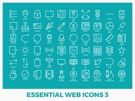 Ícones web mistos essenciais