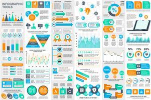 Molde do projeto do vetor do visualização dos dados dos elementos de Infographic. Pode ser usado para etapas, opções, processos de negócios, fluxo de trabalho, diagrama, conceito de fluxograma, cronograma, ícones de marketing, gráficos de informação.