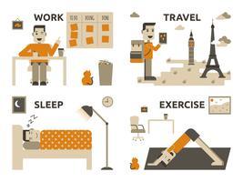 Equilíbrio entre vida profissional