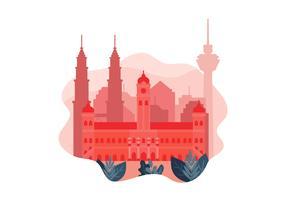 Kuala Lumpur vetor