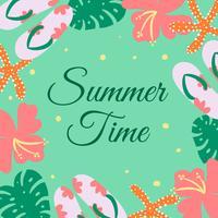 Vetor de fundo bonito verão