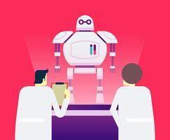 Inteligência artificial vetor