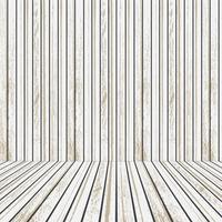 Palco de madeira branca para publicidade vetor