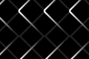 Vetor abstrato de aço gaiola em fundo preto