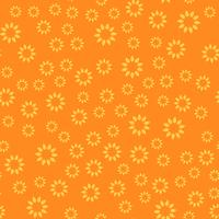 Sem costura de fundo. Conceito moderno abstrato e clássico antigo. Tema elegante design criativo geométrica. Vetor de ilustração. Cor de tom laranja e amarelo. Forma de flor floral e sol
