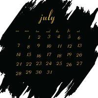 Calendário 2019 para o seu projeto vetor