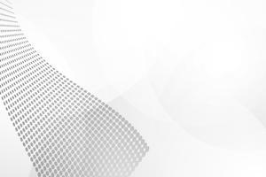 Vetor de fundo abstrato branco. Resumo cinzento. Fundo de design moderno para relatório e modelo de apresentação do projeto. Gráfico de ilustração vetorial. Dot e forma circular. publicidade de produtos presente