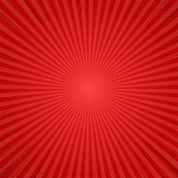 Fundo cômico vermelho dos desenhos animados. Projeto de ilustração vetorial. vetor