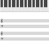 piano vetor