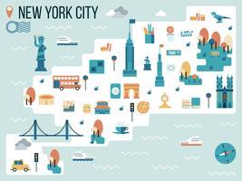 Cidade de Nova York vetor