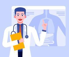 Personagens de cuidados de saúde
