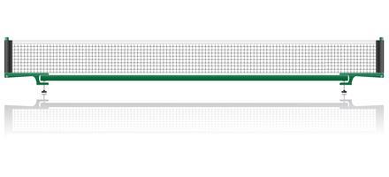 net para ilustração em vetor ping pong de ténis de mesa