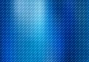 Os quadrados abstratos modelam a textura no fundo metálico azul.