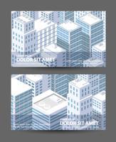 Cartões de visita de modelos vetor