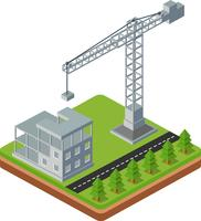 Guindastes de construção