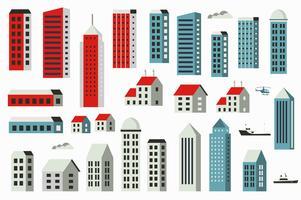 Conjunto de construção da cidade