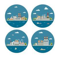 paisagem industrial
