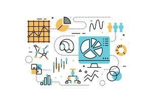 Ilustração de análise de dados