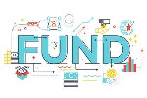 Fundo, palavra, lettering, ilustração