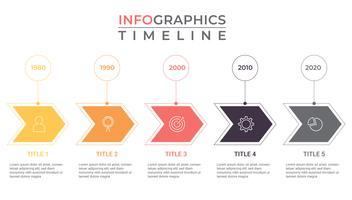 Infografia de negócios. diagrama de competição. modelo de visualização de dados de negócios para apresentação. vetor