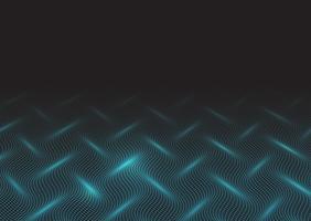 Design de ondas techno vetor