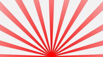 Fundo abstrato starburst. Retro de luz solar estreito. Ilustração vetorial de fantasia. Fundo mágico do teste padrão do raio de feixe de Sun. vetor
