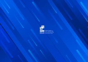 Elementos geométricos azul abstrato design moderno vetor
