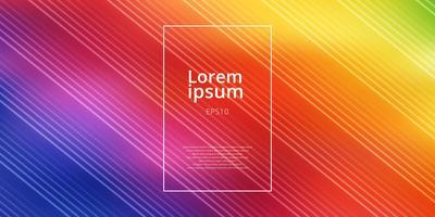 O arco-íris brilhante abstrato colore o fundo borrado malha do inclinação com linhas diagonais teste padrão.