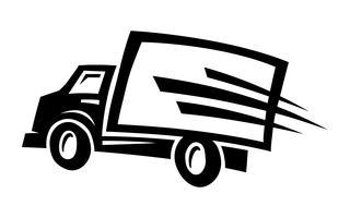 Caminhão de entrega vetor