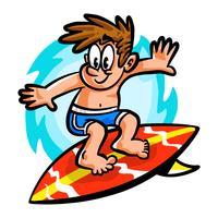 Surfista vetor