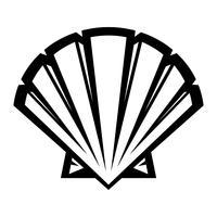 Ícone de vetor de concha