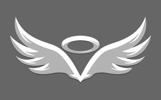 Asas de anjo vetor