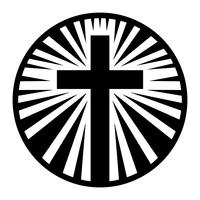 Cruz cristã vetor