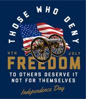 Liberdade vetor
