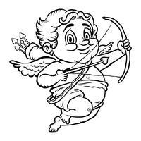 Ilustração do vetor de Cupido