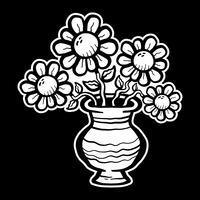 Flor dos desenhos animados vetor