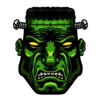 Monstro de Frankenstein vetor