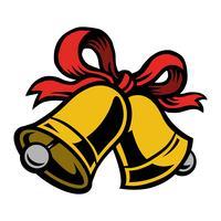 Ícone de vetor de sinos de Natal